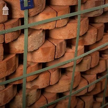 Bricks Half Round Coping Handmade Britannia Norfolk