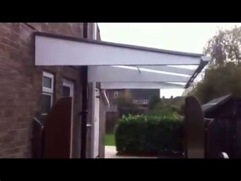 pro port canopies cantilever carport canopy youtube