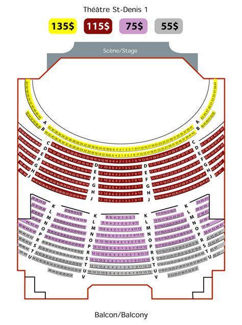 plan de salle theatre st denis balcon on topsy one