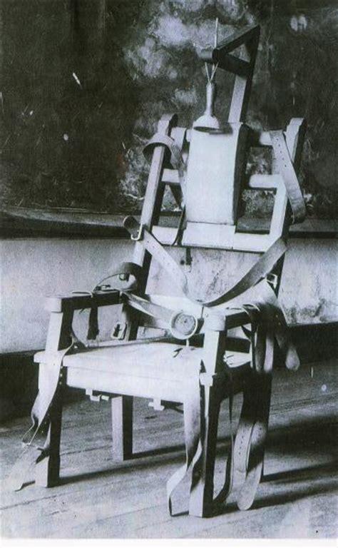 chaise de electrique 1890 kemmler le pionnier de la chaise electrique la