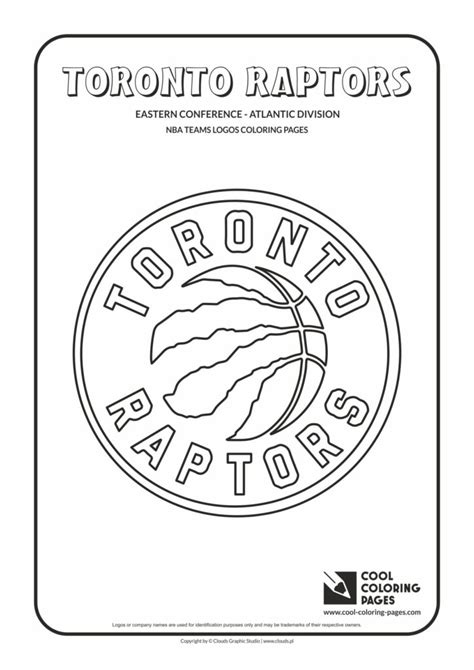 cool coloring pages toronto raptors nba basketball teams logos coloring pages cool coloring