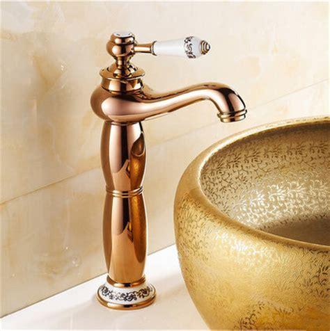 New European Style Mixer Bathroom Sink Tap High version
