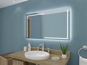 Badspiegel Mit Led Beleuchtung : badspiegel mit led beleuchtung lena ~ Buech-reservation.com Haus und Dekorationen