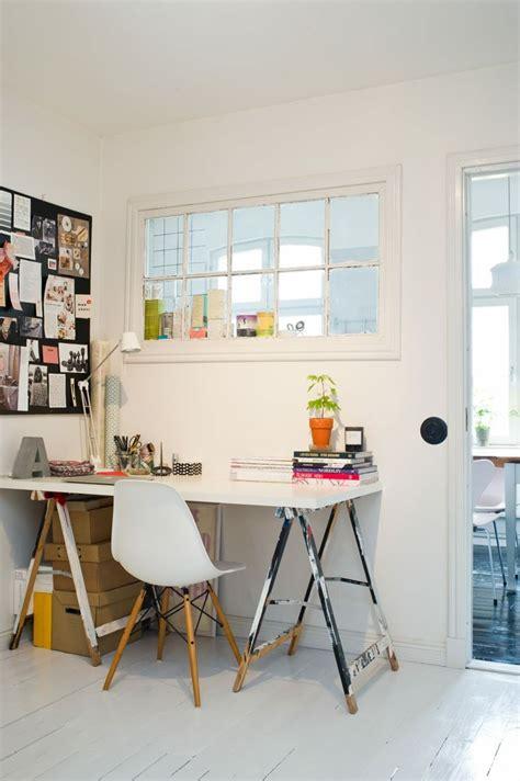bureau scandinave  idees pour  coin de travail pratique