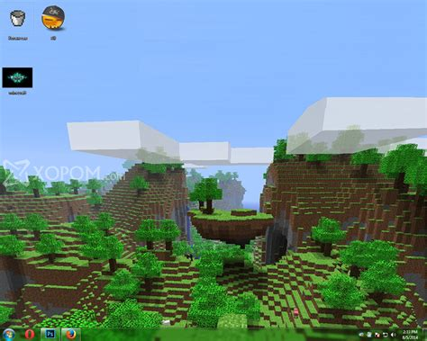 minecraft theme windows  xopom