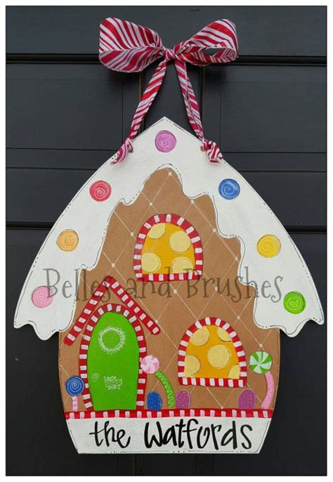 how to make a christmas door hanging on youtube 17 best ideas about door hangers on door wood cutouts and