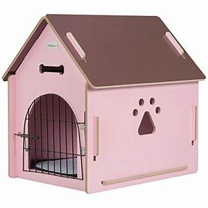 ollieroo dog house crate wooden kennel indoor condo for With indoor wooden dog house