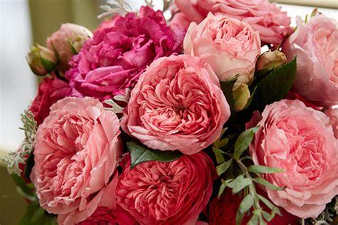 arrange  garden rose wedding bouquet