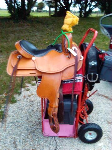 trucs  astuces  chariot porte selle ou porte harnais