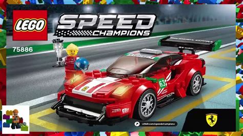 This set was the 75913: LEGO instructions - Speed Champions - 75886 - Ferrari 488 GT3 Scuderia Corsa - YouTube