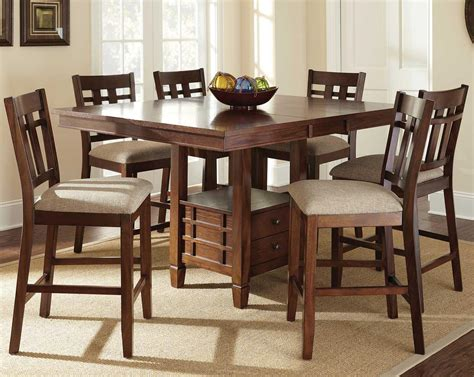 Steve Silver Bolton 7 Piece Counter Height Dining Set With