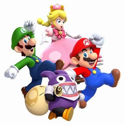 Mario Bros Deluxe Switch Nintendo Personagens Luigi