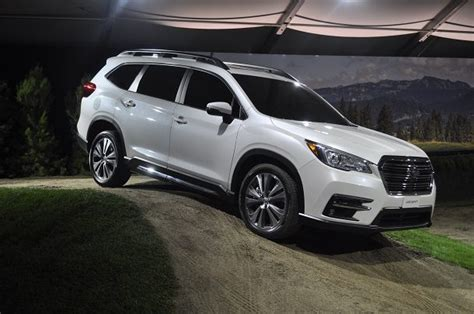subaru ascent subie takes  shot   big