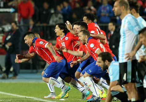 Chile 0 (4) Vs 0 (1) Argentina  Penales  Final Copa