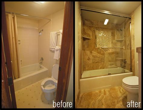 Bathroom Remodel Ideas Before And After by Before And After Images Of Bathroom Shower Remodels