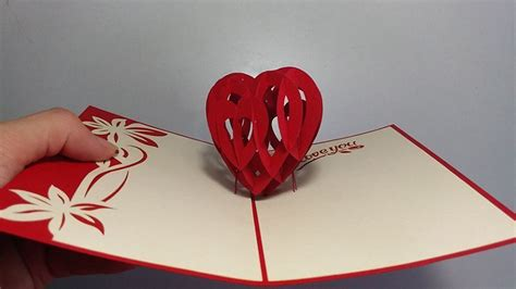 Top 5 Idea For Valentine's Day Popup Card