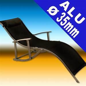 Bain De Soleil Pliable : bain de soleil pliable en aluminium ~ Teatrodelosmanantiales.com Idées de Décoration
