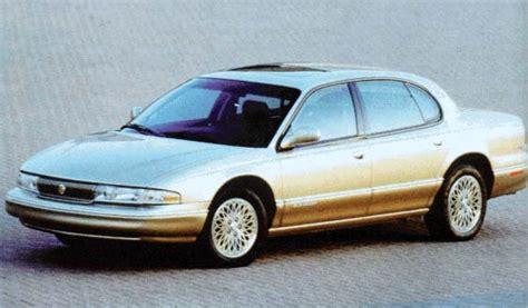 96 Chrysler Lhs by 1996 Chrysler Lhs Review