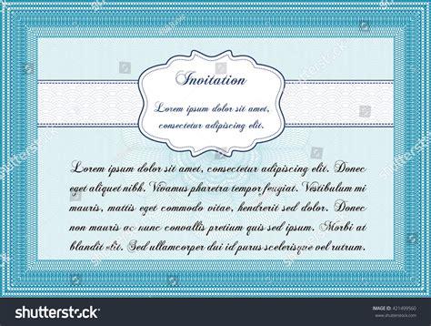 retro invitation border frame quality background stock