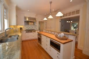 split level kitchen island kitchen with split level island traditional kitchen san francisco by joyce architecture