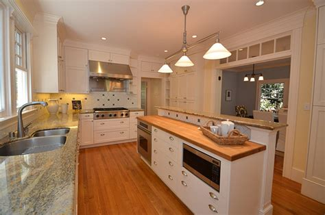 split level kitchen island kitchen with split level island traditional kitchen san francisco by lisa joyce architecture