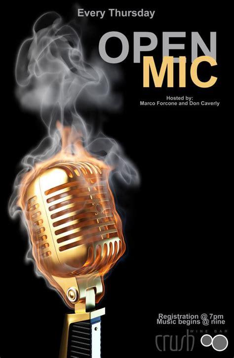 foto de open mic poster Don Caverly