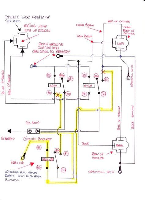 installing headl relays dodge diesel diesel truck resource