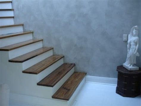 Treppenstufen Beton Innen by Adding Wood Treads To Existing Concrete Stairs Indoor