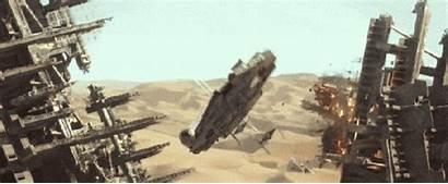 Wars Star Force Awakens Trailer Falcon Millennium