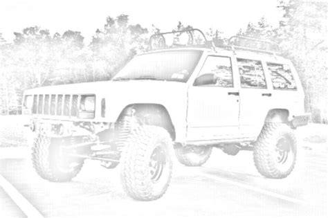 lifted jeep drawing pencil sketch of jeeps jeep cherokee forum