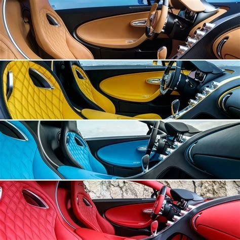 Chiron has an evolution of the veyron w16, but with 50% more urge; I'd personally go for the tan interior. Your thoughts? :NetCarShow #bugatti #chiron #veyron # ...