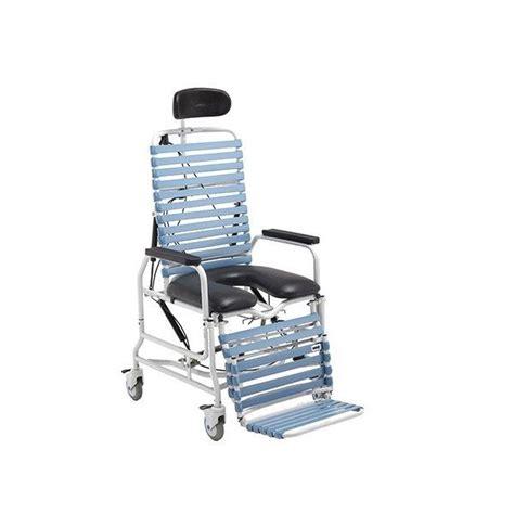 broda tilt recline shower commode active healthcare