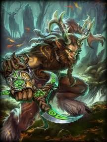 Cernunnos the Horned God Smite