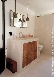 Beton Ciré Sol Salle De Bain : b ton cir salle de bains les 5 erreurs viter c t maison ~ Preciouscoupons.com Idées de Décoration