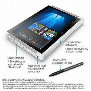 Deal  Hp X2 Detachable Laptop With 4gb Ram  128gb Ssd And