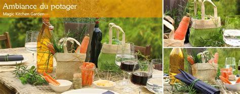 table pour cuisine déco jardinage pour table
