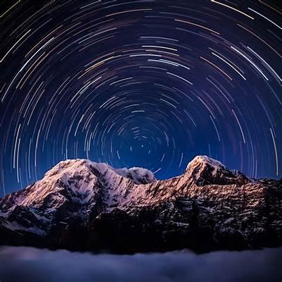 Above Annapurna