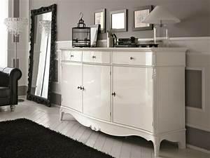 Sideboard Weiß Vintage : sideboard in wei hochglanz 14 schicke elegante modelle ~ Frokenaadalensverden.com Haus und Dekorationen