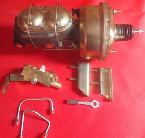 transmission control 1966 ford falcon regenerative braking 1964 1966 ford mustang auto transmission brake booster and master cylinder 6466stangautobrk