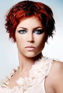 Red Short Hairstyles Women