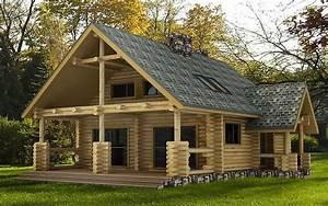 formidable prix maison en rondin 2 chalet en bois With prix maison en rondin