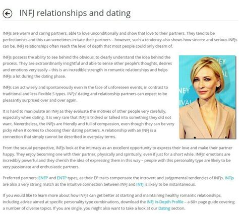 infj personality infj relationships and dating infj pinterest