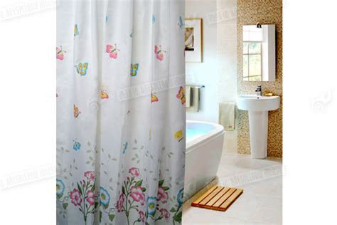 Butterflies Fabric Shower Curtains, Extra Long, W240cm X L200cm, 100% Polyester Copper Pipe Curtain Pole Uk Pink Ticking Stripe Shower Pictures Of Long Curtains On Short Windows Spanish Tile Next Grey And Yellow Check Disney Princess Fabric Simple Valance Patterns Can I Put