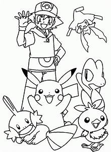 Dibujo Para Colorear Pokemon 04