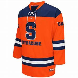 Colosseum Syracuse Orange Orange Hockey Jersey
