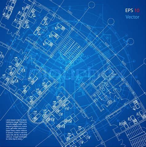 house floor plan designer blueprint vector architectural background part