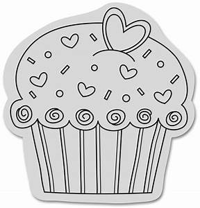 Best Cupcake Clipart Black And White #5233 - Clipartion.com