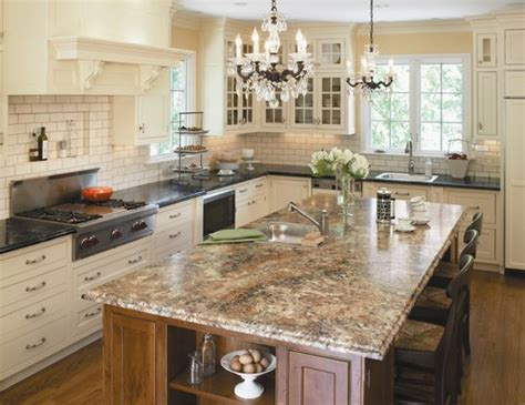 marble kitchen island granite kitchen island pictures and ideas
