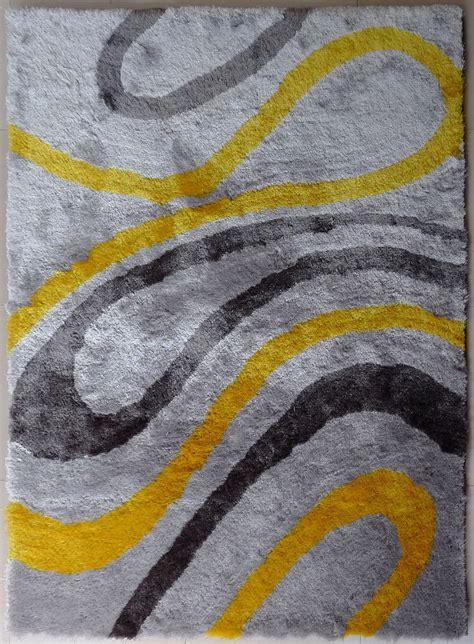 Yellow Grey Rug  Rugs Ideas