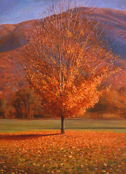 a tree in the fall ode for the season obsolescing